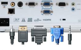 Collegare un videoproiettore