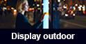 Display outdoor