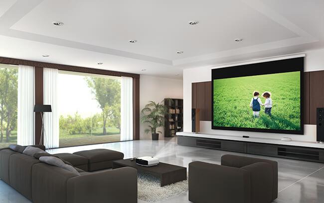 Utilizzo del videoproiettore per l'HomeCinema o in soggiorno