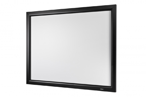 euroscreen schermo a cornice Frame Vision con reazione 3.0 320 x 189 cm formato 16:9