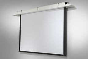 celexon schermo con motore e installazione a soffitto Expert 220 x 165 cm