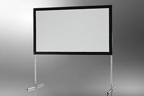 celexon schermo mobile con cornice da aprire Expert 305 x 190 cm, proiezione frontale
