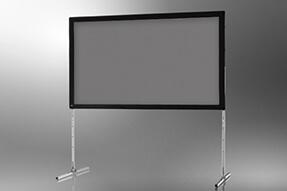 celexon schermo mobile con cornice da aprire Expert 406 x 254 cm, proiezione posteriore