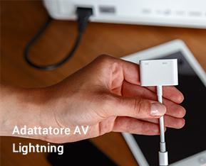 Adattatore AV Lightning