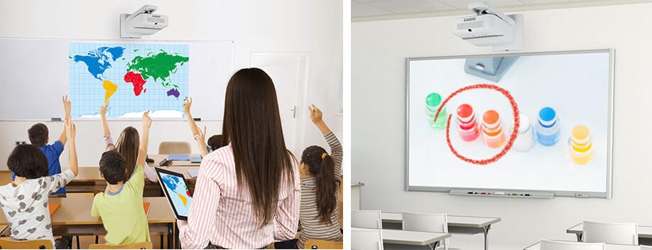 Proiettori Casio LED per la scuola