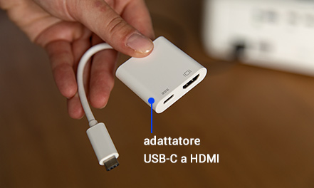 USB-C-auf-HDMI Adapter