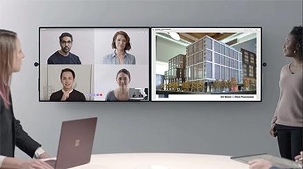 Microsoft Surface Hub2 - Progettato appositamente per i team