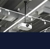 Staffe da soffitto per proiettore